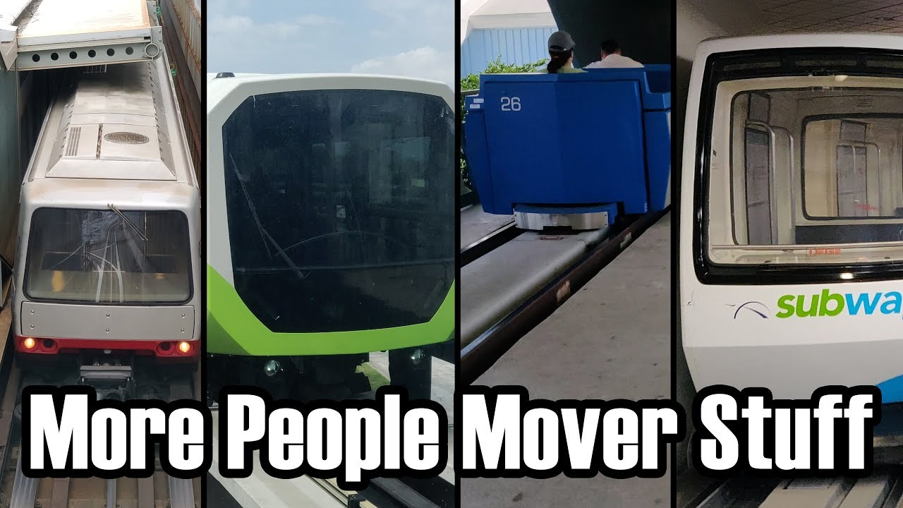 A Plethora of Extras from the Story of Disney's Third PeopleMover