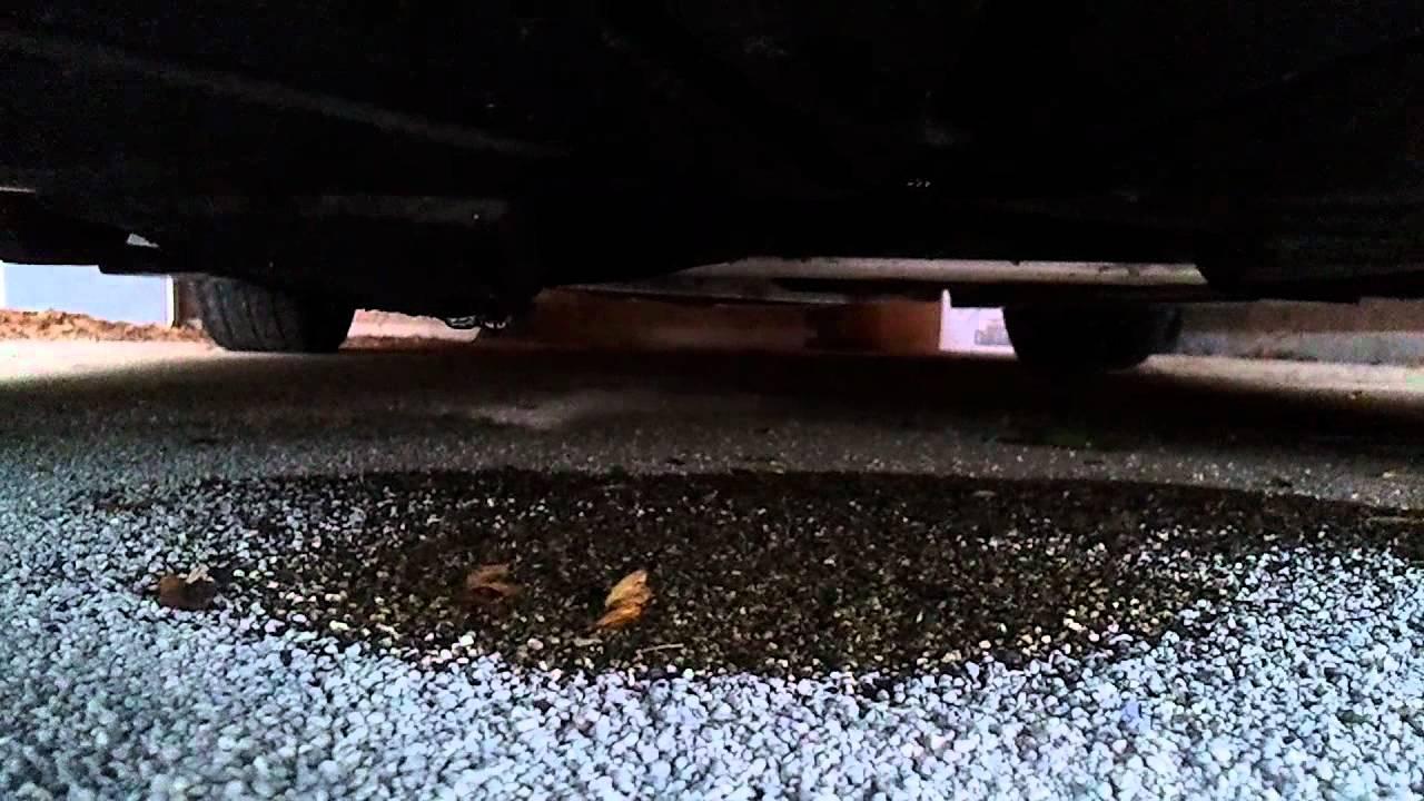 Car Leaking Oil >> 1990 Mazda Miata oil leaking problemo's - YouTube