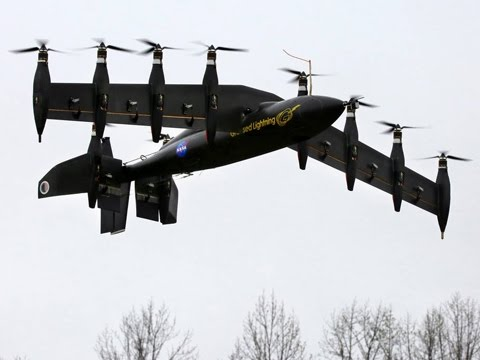 NASA's Greased Lightning 10-Engine Hybrid Electric VTOL Drone