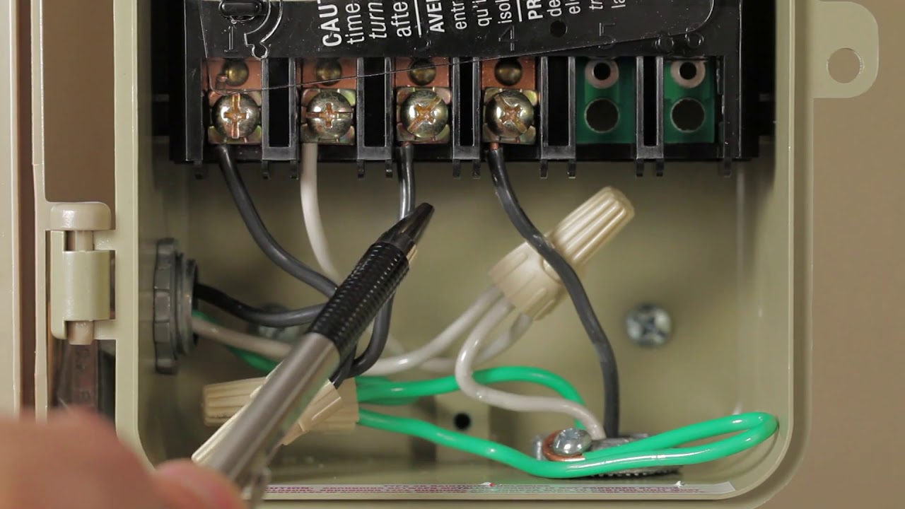 Tork- Wiring The E Series Timers For 120 Volts