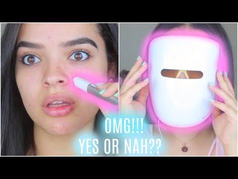 neutrogena-light-acne-therapy-mask-&-wand- -does-it-work???- -jackieflores