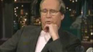 Chevy Chase on Letterman