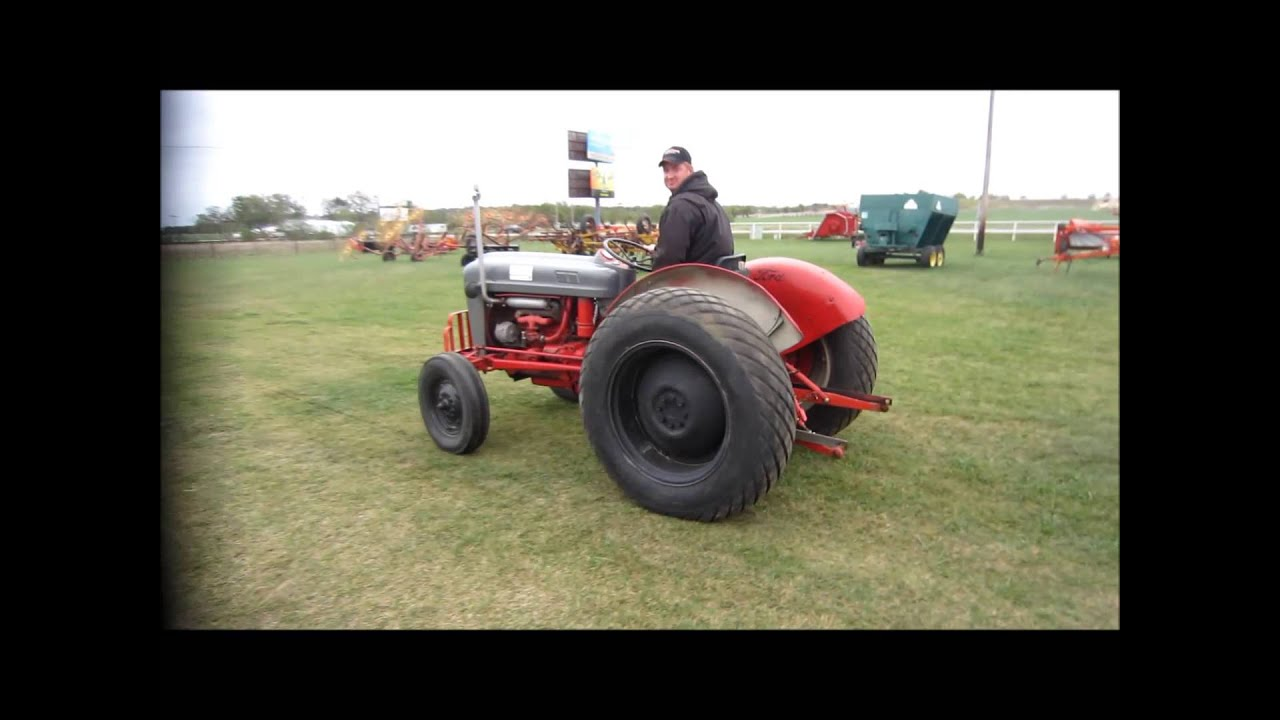 Ford 600 Tractor Start : Ford tractor for sale sold at auction october