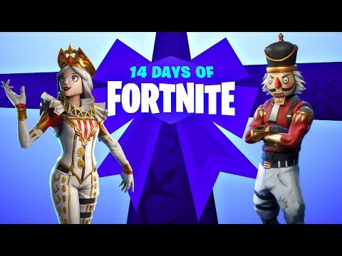 14 Days of Fortnite Day 2 Live + New Nutcracker Set!  (Fortnite New Update) thumbnail