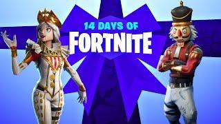 14 Days of Fortnite Day 2 Live + New Nutcracker Set! (Fortnite New Update)