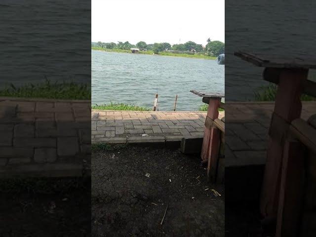 Edisi danau pemancingan cangkring