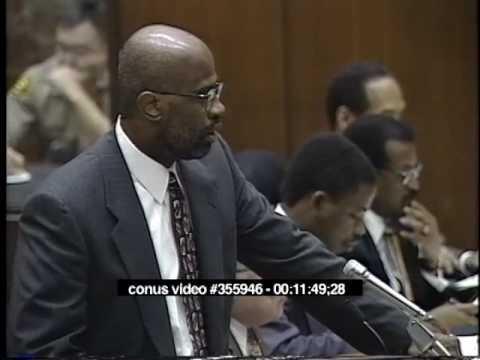 OJ Simpson Trial - March 29th, 1995 - Part 1
