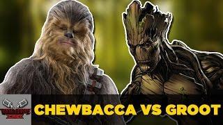 Chewbacca VS Groot | DEATH BATLE Cast