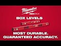 Milwaukee® REDSTICK™ Box Levels