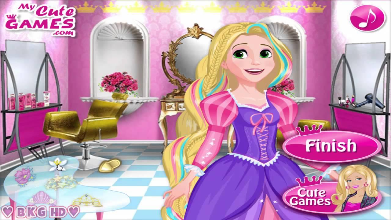 Barbie Hair Salon Video S Princess