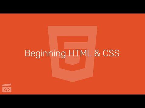 Beginning HTML & CSS Part 2: Hello World