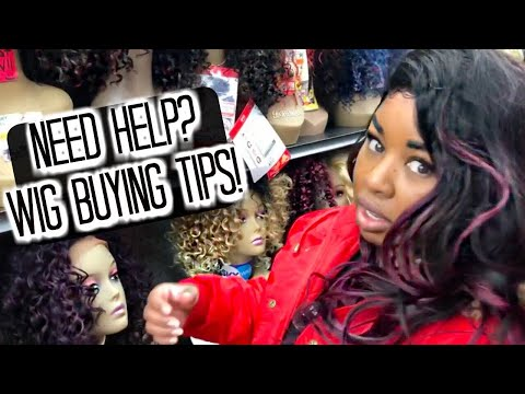 How to select the perfect wig for you! Let's go wig shopping!