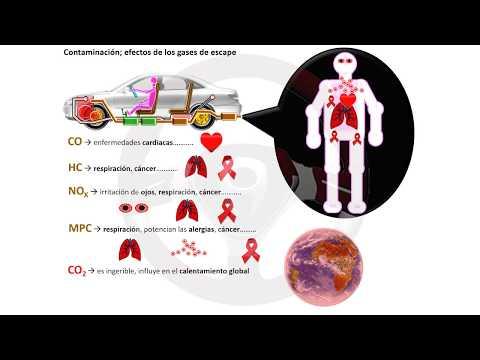Contaminación de los motores de gasolina, diésel y más (8/18)