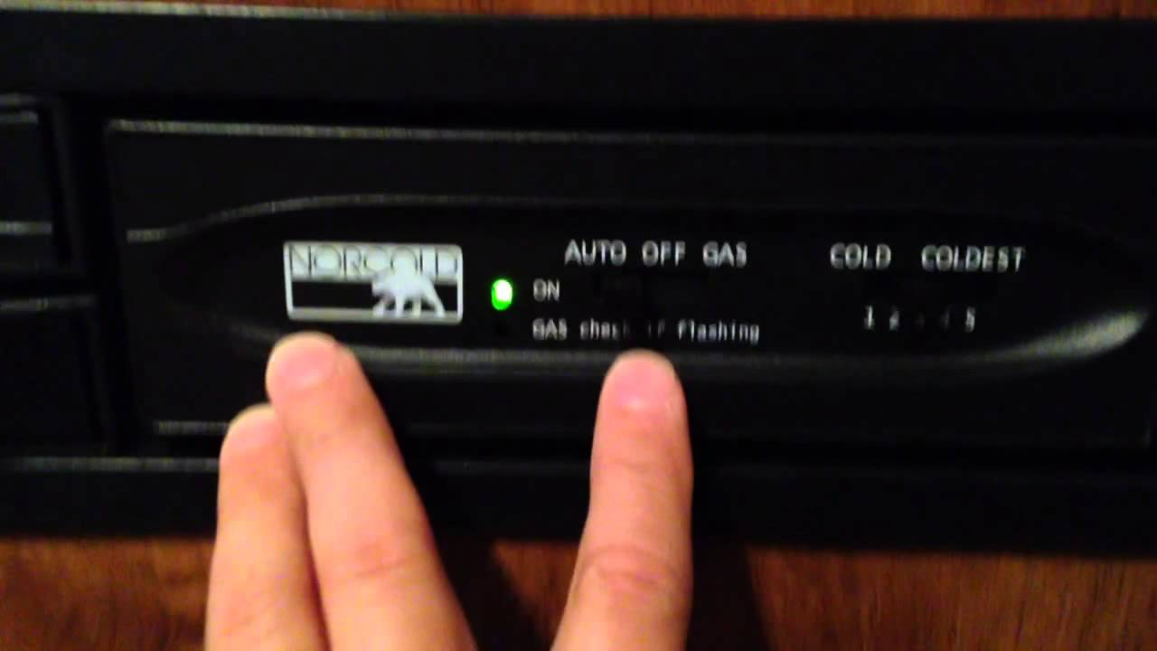 How To Use Refrigerator Gas Propane Electric And Auto Setting On Rv Norcold Ac Dc Schematics