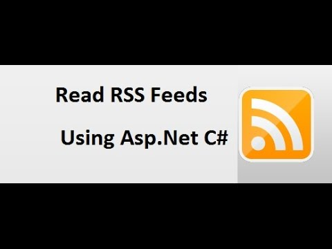 How to consume RSS feed in your website using Asp.net c#