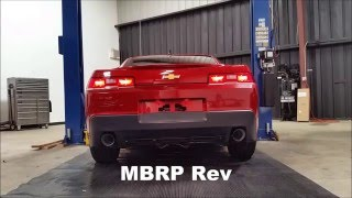 mbrp stainless steel axle back for 2010 2015 camaro v6 s7021304
