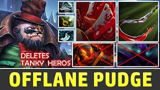 Forev PUDGE OFFLANE CLOSE GAME | Dota 2 Pudge