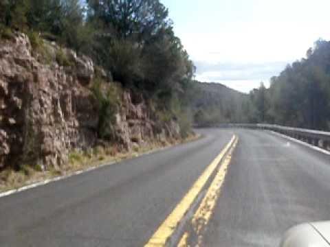 Road War Over Mingus Mountain