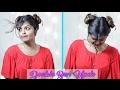 DIY Hairstyles | Tutorial | Double Bun Updo