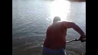 Ловим амура на реке Сал.