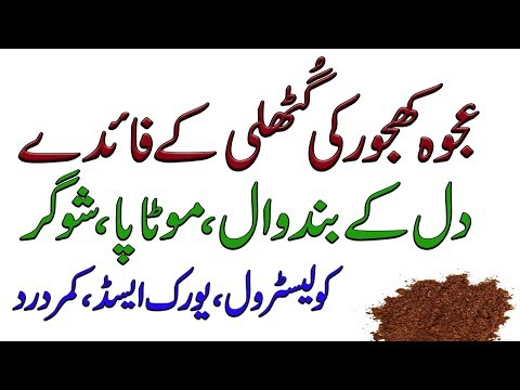 ajwa dates powder benefits in urdu | ajwa khajoor ki guthli ke fayde