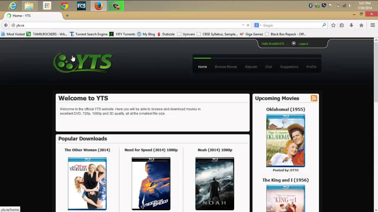 how to download free movies(torrent) (720 & 1080p) - youtube