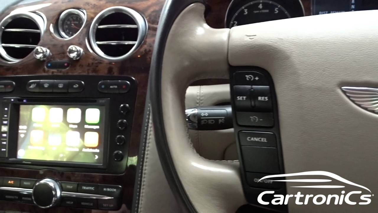 Apple Carplay With Bentley Gt Continental