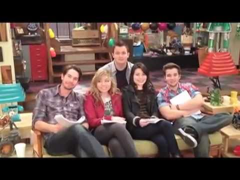 Icarly Itrick The Whole Cast Bahahawmv Youtube
