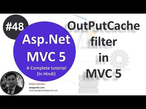 (#48) OutputCache Filter in MVC 5 | mvc tutorial for beginners in .net c#