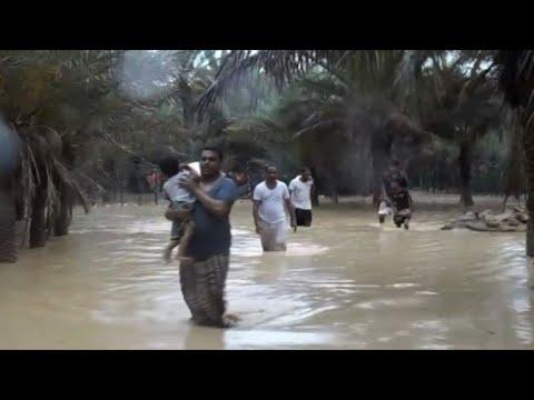 إعصار يضرب جزيرة سقطرى اليمنية وفقدان أثر سبعة أشخاص
