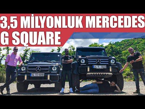 3.5 milyon TL'lik Mercedes G Serisi Square | Efsane Kadro