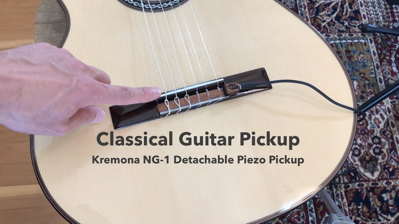 classical guitar pickup review kremona kna ng 1 piezo pickup youtube. Black Bedroom Furniture Sets. Home Design Ideas