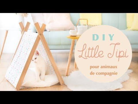 DIY Little Tipi Pour Animaux De Compagnie