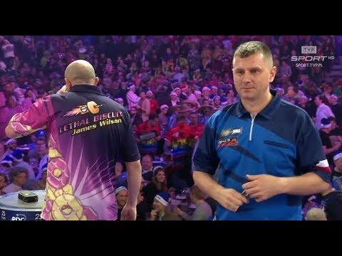 Darts World Championship 2018 James Wilson - Krzysztof Ratajski [1 runda] //DartTown.pl
