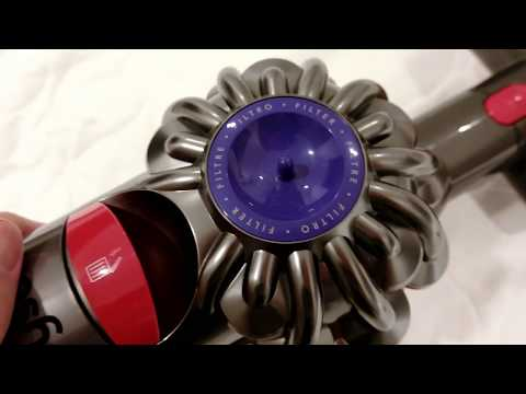 Dismantling Dyson V8 and What is Inside the Bed