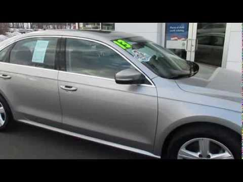 2013 Volkswagen Passat SE Sunroof and Navigation (stk# L30047 ) for sale Trend Motors Rockaway, NJ