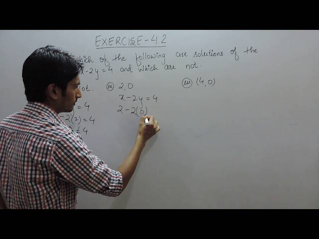 chapter 4 Linear Equations in Two Variables class 9 maths ncert solutions | Exercise 4.2 q 3