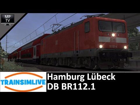 MattPlaysTV@1080P/60FPS - Train Simulator - Hamburg Lübeck, BR112.1