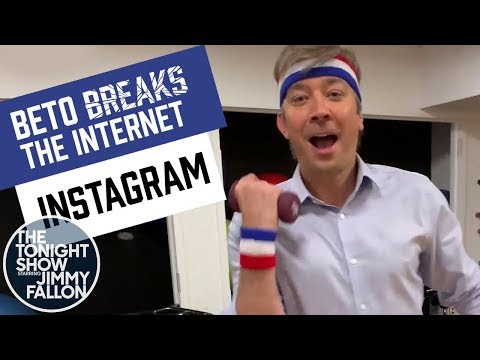 Beto O'Rourke Shows Off His Workout Routine on Instagram: Beto Breaks the Internet Ep. 4