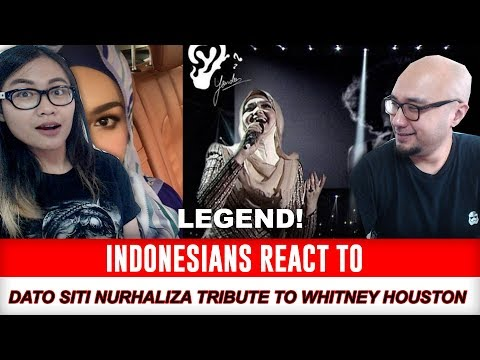 Indonesians React To Dato Siti Nurhaliza tribute to Whitney Houston (MEMORIES)