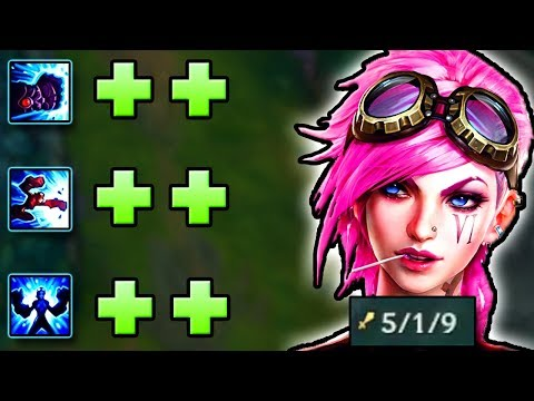 THESE BUFFS MAKE HER.. VI-ABLE IN THE JUNGLE AGAIN? NEW BUFFED VI GAMEPLAY! | League of Legends