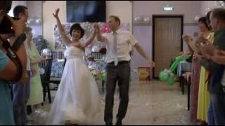 Свадебный танец серебряных молодоженов Сергея и Оксаны. 1 июля 2014г.
