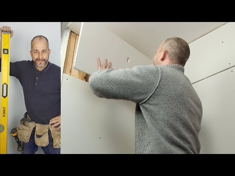 How To Install Drywall in Your Shower
