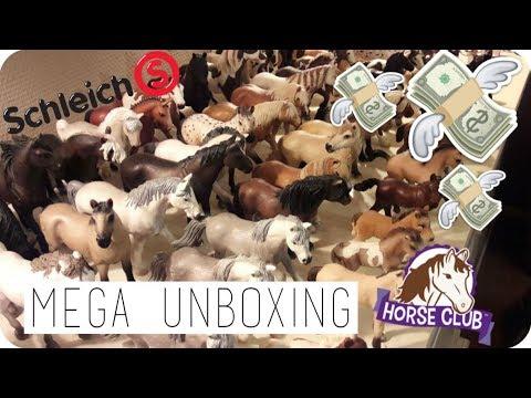 MEGA Schleich unboxing! Meer dan 50 paarden!! | SCHLEICH #02 | Daphne