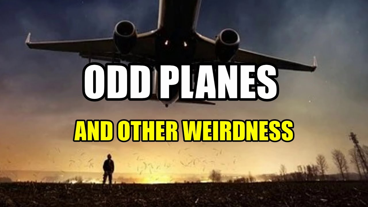 """""""Odd Planes and Other Weirdness""""   Paranormal Stories"""