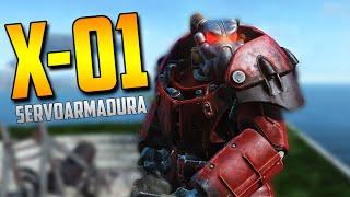 5 Maneras de Encontrar y Conseguir LA MEJOR SERVOARMADURA X-01 en Fallout 4