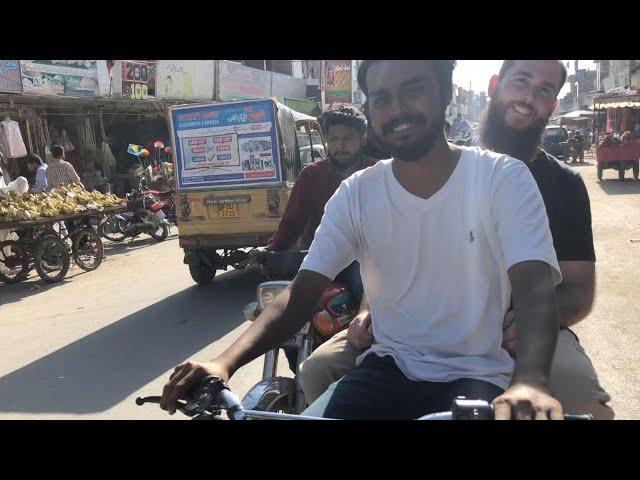 Motorbike ride in Faisalabad, Pakistan (2018)