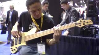 NAMM 2011: Martin Keith Guitars Elfin Bass