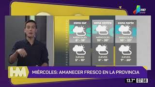 El tiempo para el miércoles y jueves en toda la provincia (16 y 17 de junio)