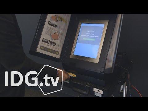 Hacking a voting machine